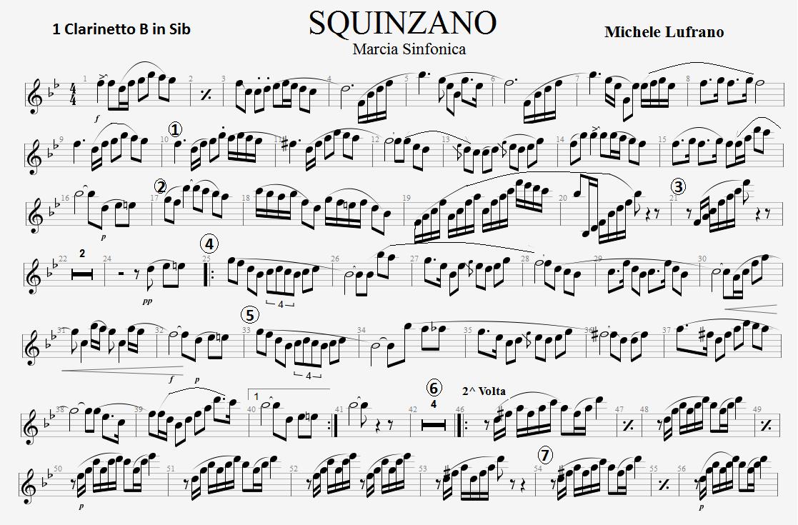 marce sinfoniche per banda da